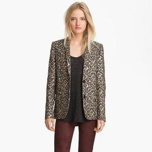 Zadig & Voltaire Deluxe Blazer in Leopard Print